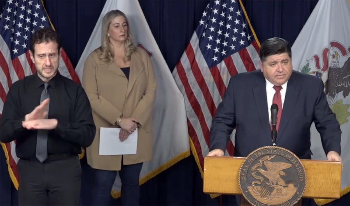 "Pritzker: ""Wear A Mask or Get The Hell Out Of My State!"""